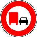Camion interdit de doubler Ø450mm Classe1
