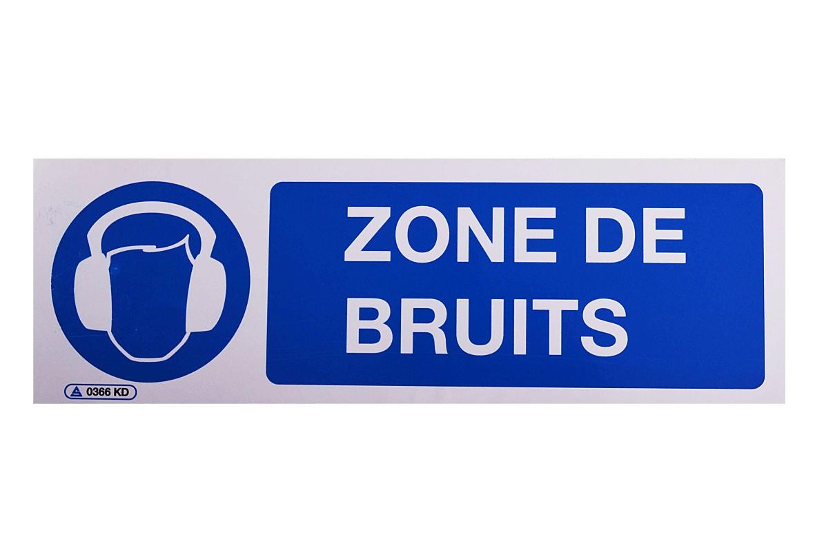Panneau Zone de Bruits