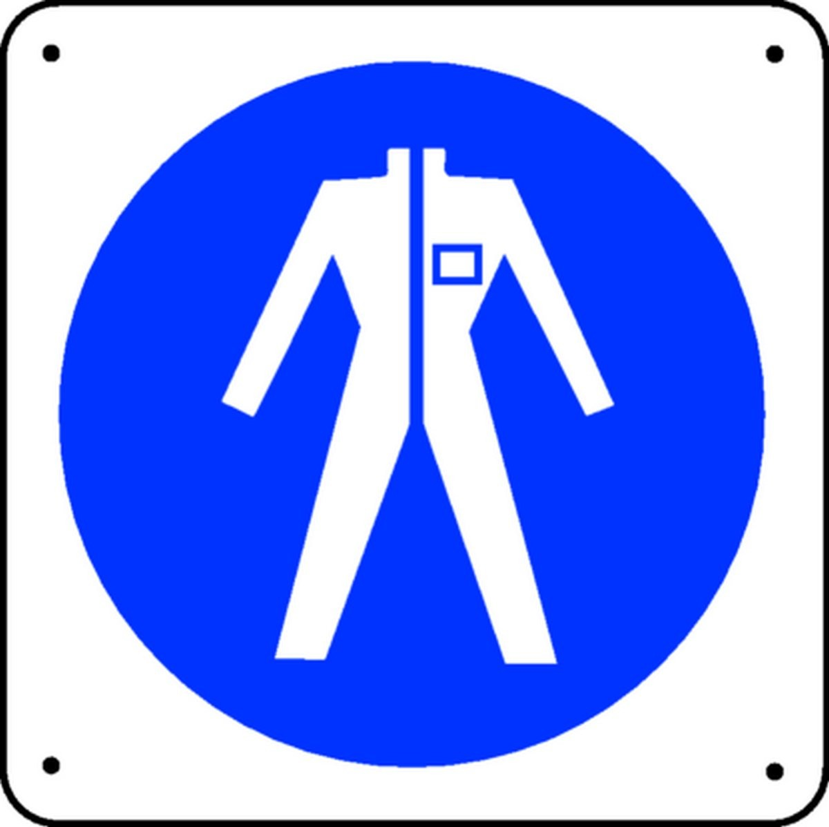 Vêtements de sécurité obligatoires Picto