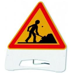 Panneau Danger Travaux PVC Classe T