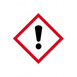 Etiquette Danger en Velin adhésif