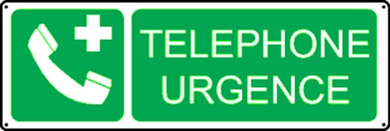 Pictogramme Téléphone Urgence