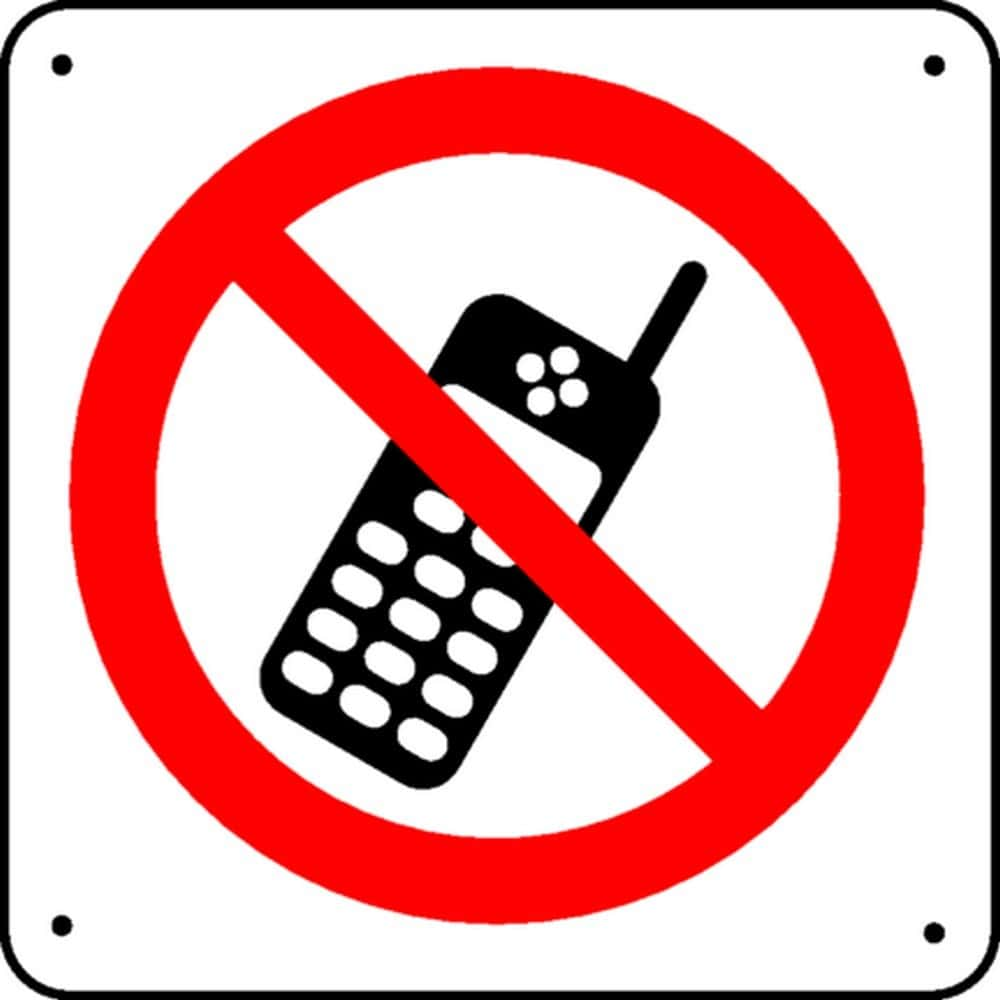 Panneau Téléphone Interdit Picto