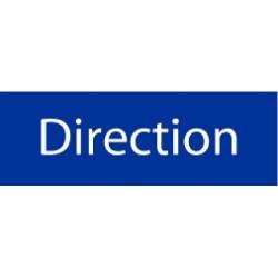 Panneau Direction