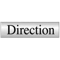 Panneau Direction (Inox)