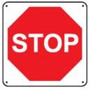 Panneau STOP Renforcé pour poteau