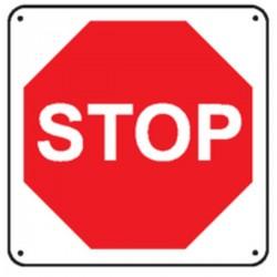 Panneau STOP ( Renforcé )