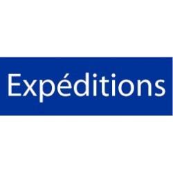 Panneau Expéditions