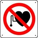 Panneau Stimulateur cardiaque Interdit Picto