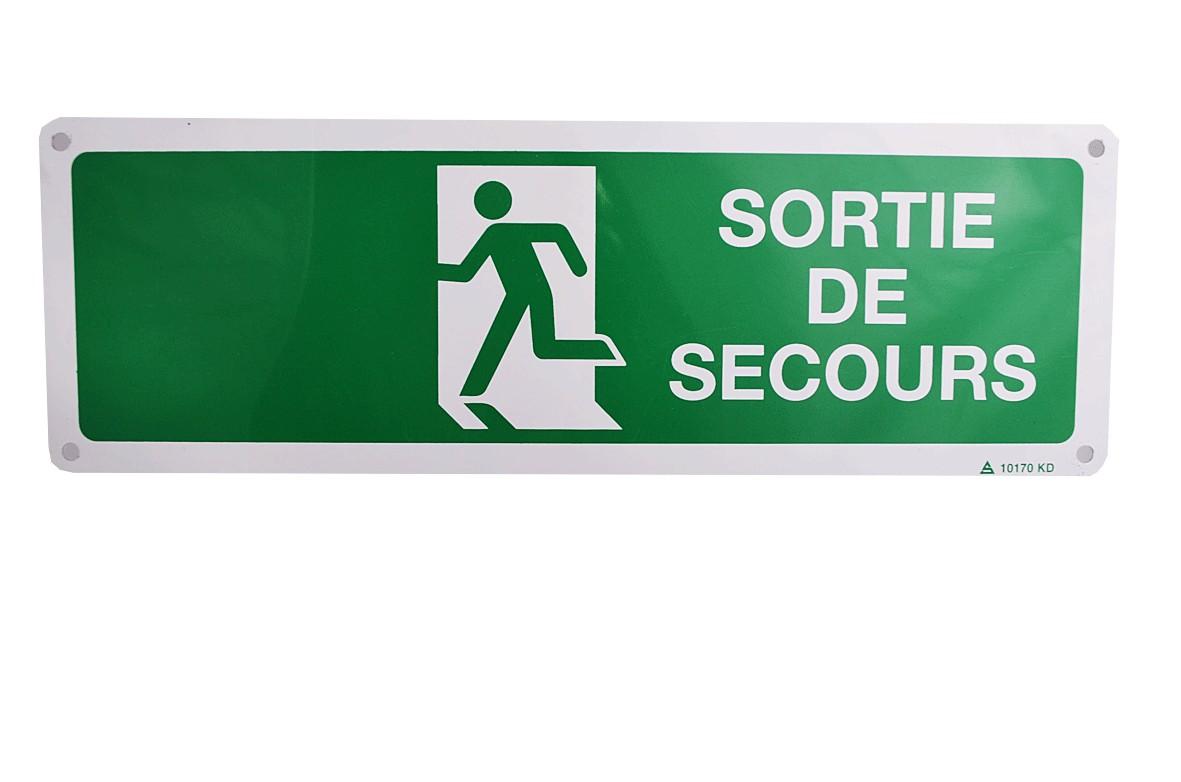 Pictogramme Sortie de secours (gauche)