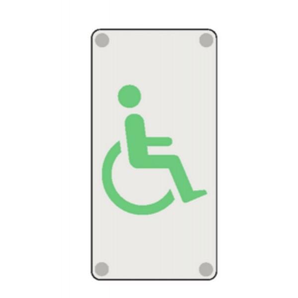 Handicap picto stocksignes for Porte wc handicape