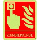 Sonnerie Incendie Photoluminescent