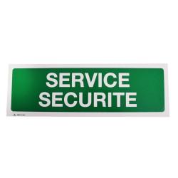 Panneau Service Sécurité