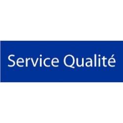 Panneau Service Qualité