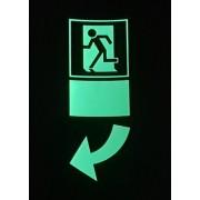 Panneau Marquage de porte vers la gauche - à partir de 4,20€ht