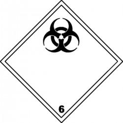 Panneau Matières infectieuses Classe 6.2
