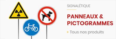 Panneaux et pictogrammes de signalisation
