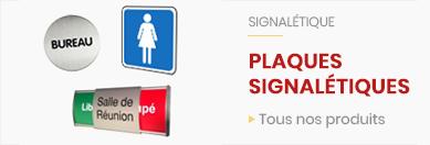 Plaques signaletiques